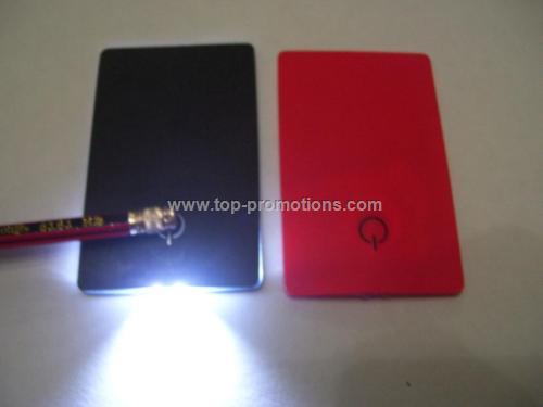 card shaped flashlight