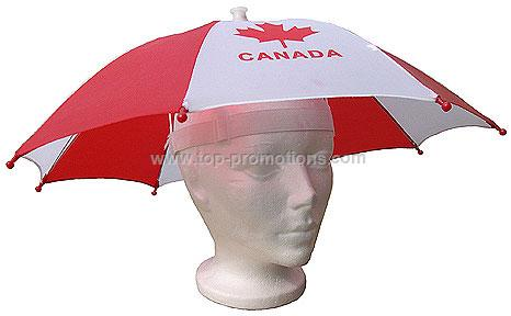 Canada Umbrella Hat