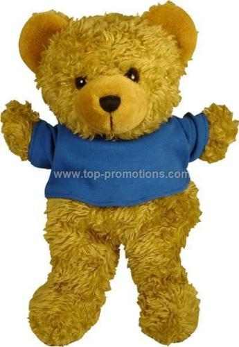 Scruffy Bear Hand Puppet With T-shirt