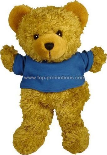 Scruffy Bear Hand Puppet With T-shirt