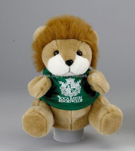 9 is Lion Hand Puppet W/ Shirt