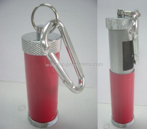 Pocket ashtray with Carabiner