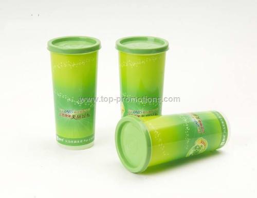 Flat Lid plastic cup