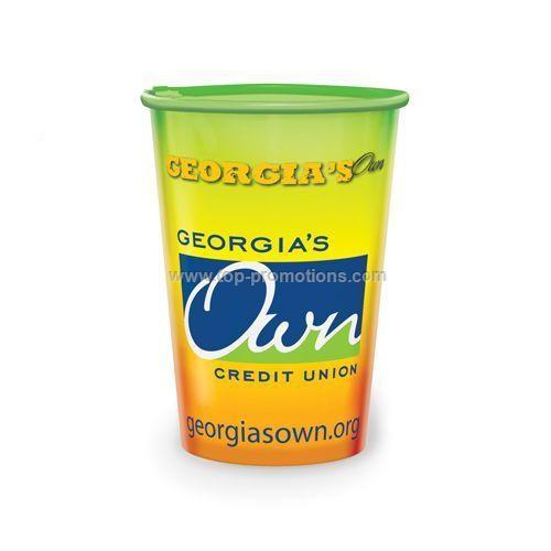 Clear 22 oz Plastic Cup
