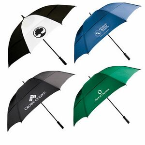 62 is  Wind-Resistant Golf Umbrella with Fiberglass S