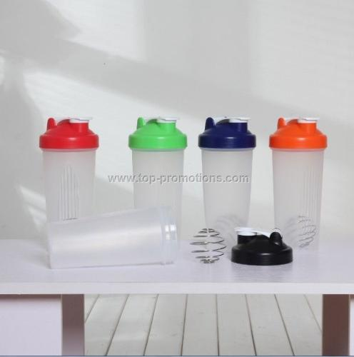 Shaker Bottle W Metal spring ball