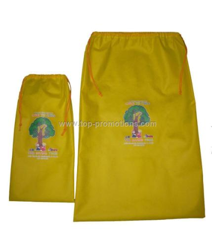 Gift bag with drawstring
