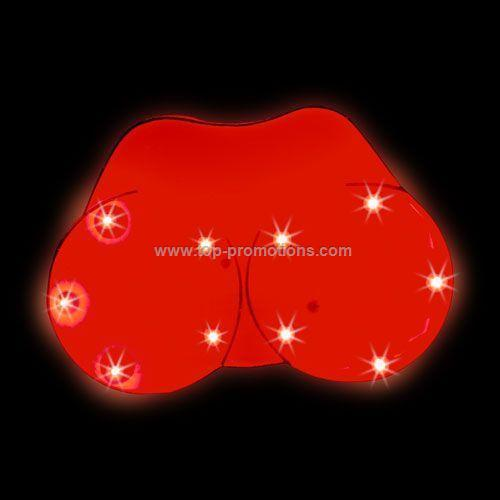 LED Light-Up Magnet - Breast
