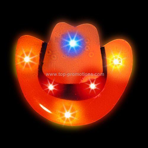LED Light-Up Magnet - Cowboy Hat
