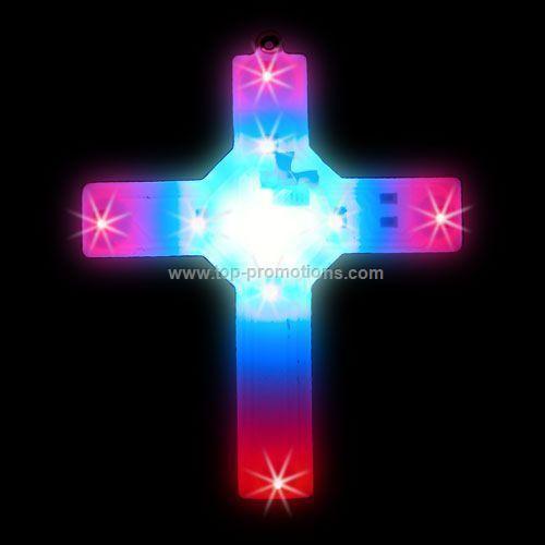 LED Light-Up Magnet - Cross