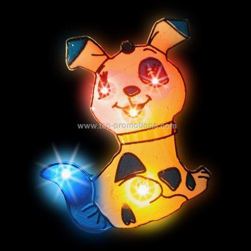 LED Light-Up Magnet - Dog