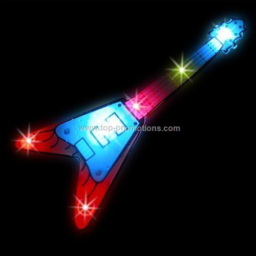 LED Light-Up Magnet - Electric Guitar