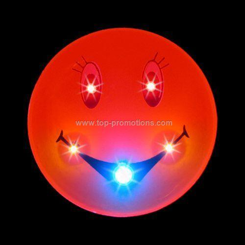 LED Light-Up Magnet - Smiley Face