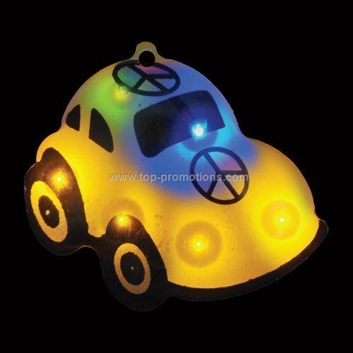 LED Light Up Magnet Beetle Peace