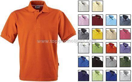 Cotton Pique Polo Shirts