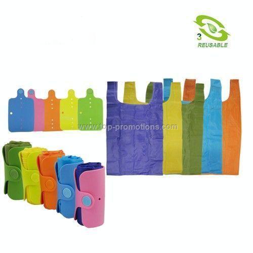 Foldable Tote Bag w/ Wrap