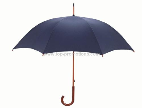 Wood Shaft Rain Umbrella