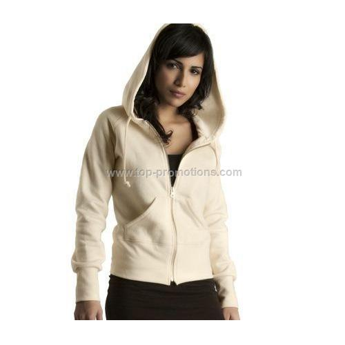 Ladies Full Zip Hoody