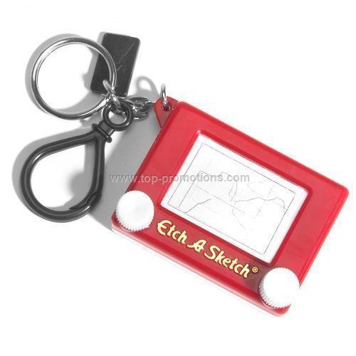 Etch A Sketch Keychain