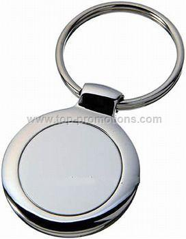 Small round key chain