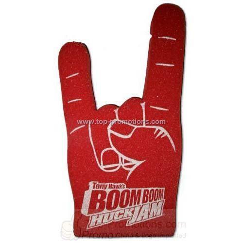 17 inch Hookem Horns Foam Hand