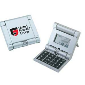 Trifold Robotic Calculator w/ World Time Clock