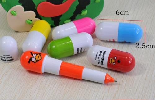 Ball pen lovely pills