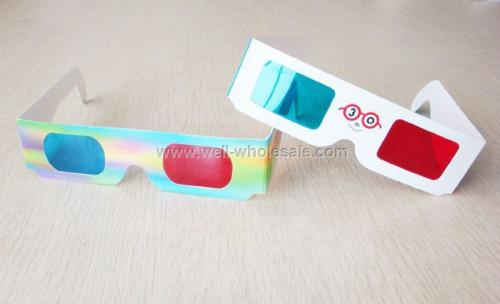 Cheap Paper 3D Glasses for promotional gifts