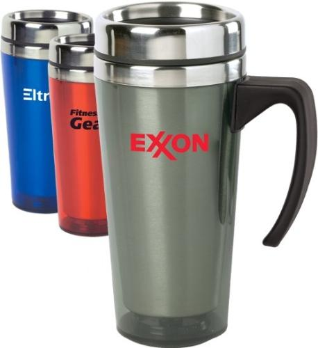 15 Oz.Color Stainless Steel Travel Mug With