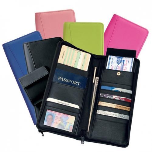 Leather Passport Holder/Wallet