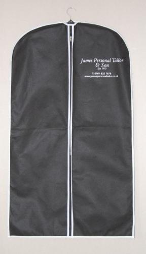 "Garment Bag - Vinyl Zipper Cover withTaffeta Finish, 24"" x 54"""