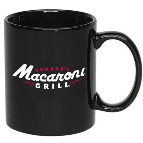 11 oz. C-Handle Black Mug