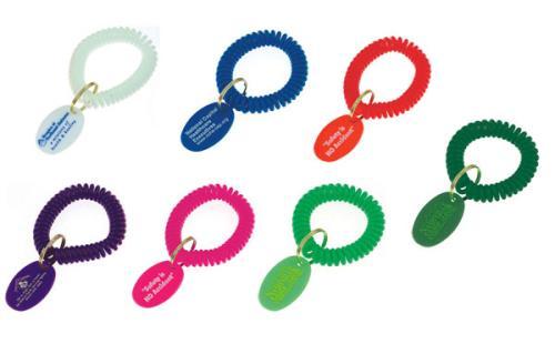 Spiral Wrist Coil Tag