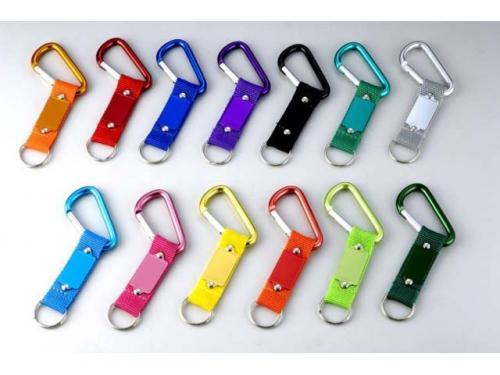 aluminium carabiner keychain