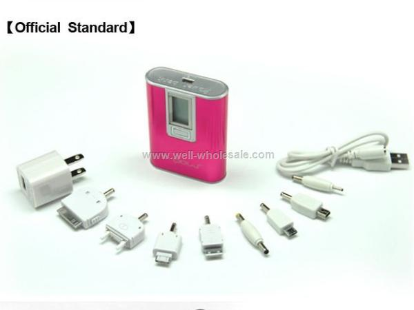 external portable charger battery 5600mAh for iphone