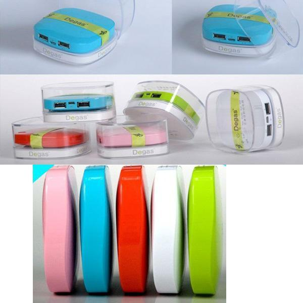 High quality 8000MAH Multi-function Degas rechargeable portable mobile power
