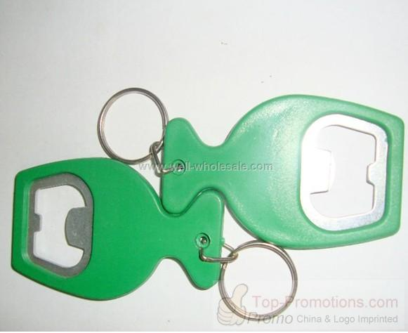 Cheap keyring bottle opener
