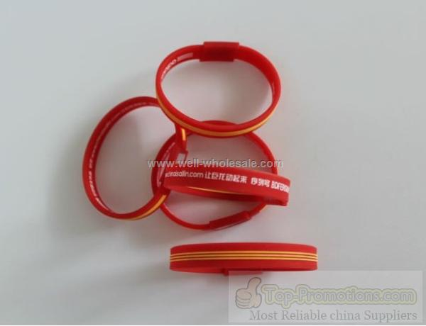 2012 Lovely Powerful Silicone Bracelet