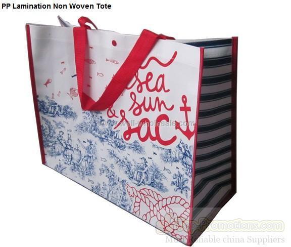 PP Lamination Non Woven Tote Bag