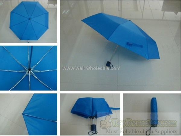 promotion 3 folding umbrella