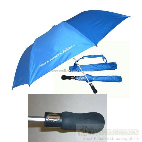 two fold umbrella as golf umbrella