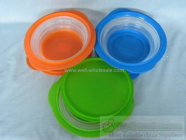 plastic folding bowl