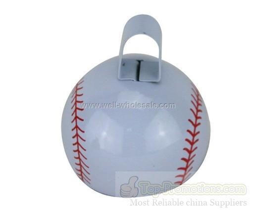 Sport Cowbell Noisemaker With Baseball Basketball Soccer Ball Pattern
