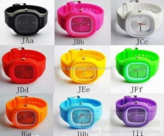 Fashion Watch Silicone
