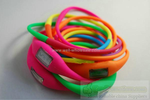 Long Strap Watch Silicone Fashion