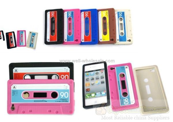 For iPhone 4/4S Silicon Case