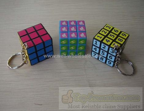 agic Cube with Keychain