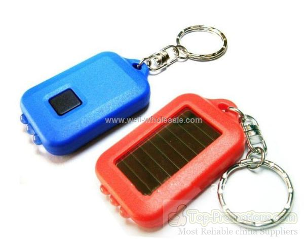 Promotional Gift Solar Keychain