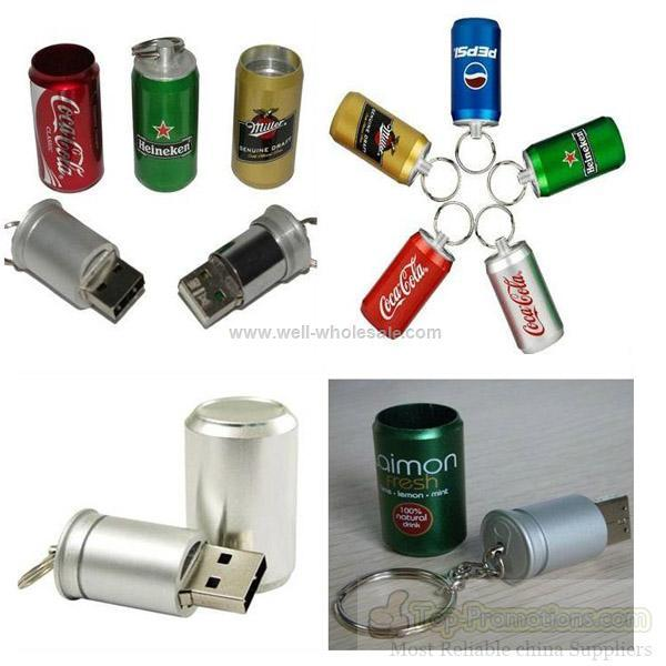 beverages picture packaged metal usb