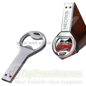 Stainless Steel Bottle Opener USB flash drive